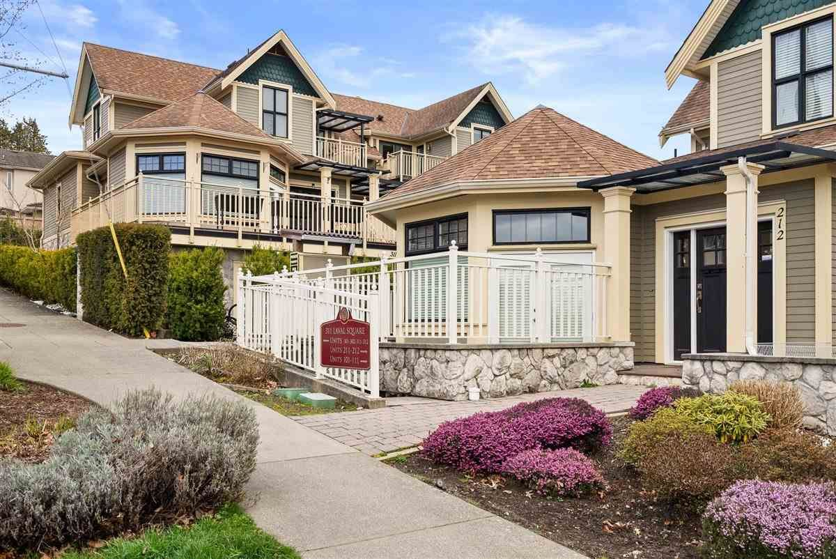 """Main Photo: 301 311 LAVAL Square in Coquitlam: Maillardville Condo for sale in """"HERITAGE ON THE SQUARE"""" : MLS®# R2559703"""