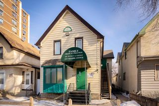 Main Photo: 453 Selkirk Avenue in Winnipeg: North End Industrial / Commercial / Investment for sale (4A)  : MLS®# 202104443