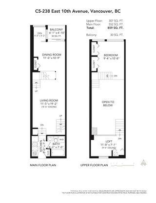 "Photo 21: C5 238 E 10TH Avenue in Vancouver: Mount Pleasant VE Condo for sale in ""Studio 10"" (Vancouver East)  : MLS®# R2617401"