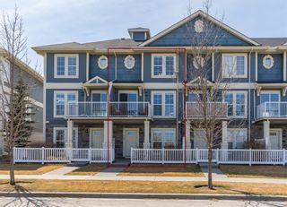 Main Photo: 649 AUBURN BAY Boulevard SE in Calgary: Auburn Bay Row/Townhouse for sale : MLS®# A1094534