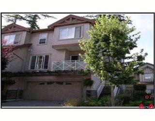 """Photo 1: 10 15133 29A Avenue in Surrey: King George Corridor Townhouse for sale in """"STONEWOODS"""" (South Surrey White Rock)  : MLS®# F2831103"""
