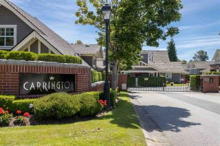 "Photo 1: 122 15500 ROSEMARY HEIGHTS Crescent in Surrey: Morgan Creek Townhouse for sale in ""THE CARRINGTON"" (South Surrey White Rock)  : MLS®# R2493967"