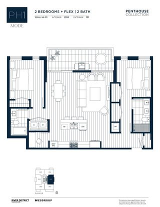 Photo 18: 2501 3438 SAWMILL CRESCENT in Vancouver: South Marine Condo for sale (Vancouver East)  : MLS®# R2605799