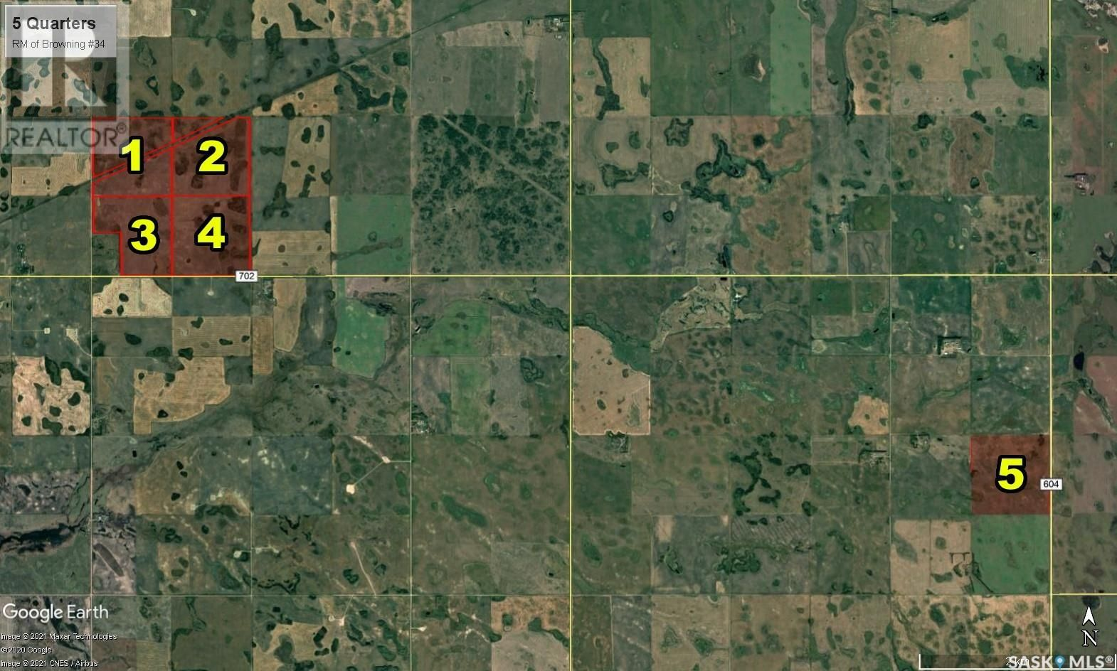 Main Photo: Kautz Land in Browning Rm No. 34: Agriculture for sale : MLS®# SK849571