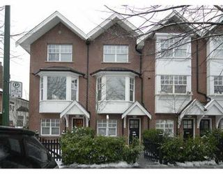 """Photo 1: 832 W 15TH Ave in Vancouver: Fairview VW Townhouse for sale in """"REDBRICKS"""" (Vancouver West)  : MLS®# V626740"""