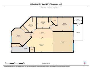 Photo 4: 110 9503 101 Avenue in Edmonton: Zone 13 Condo for sale : MLS®# E4229350