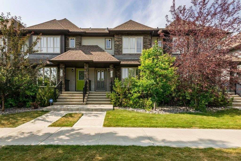 Main Photo: 3814 Allan Drive in Edmonton: Zone 56 Attached Home for sale : MLS®# E4255416