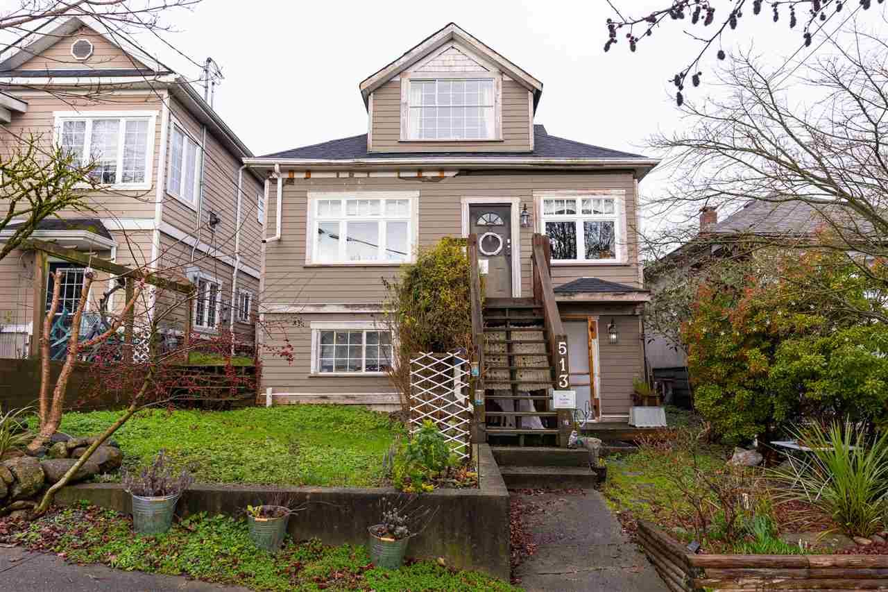 Main Photo: 513 MCDONALD Street in New Westminster: The Heights NW House for sale : MLS®# R2539165