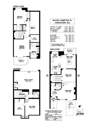Photo 40: 6 5760 HAMPTON Place in Vancouver: University VW Townhouse for sale (Vancouver West)  : MLS®# R2620154