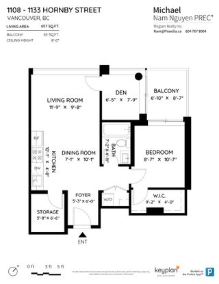 Photo 25: 1108 1133 HORNBY Street in Vancouver: Downtown VW Condo for sale (Vancouver West)  : MLS®# R2537336