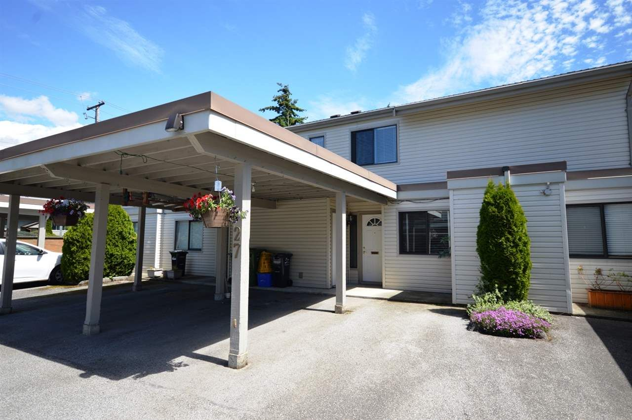 "Main Photo: 27 4700 FRANCIS Road in Richmond: Boyd Park Townhouse for sale in ""PARKSVILLE ESTATES"" : MLS®# R2178511"