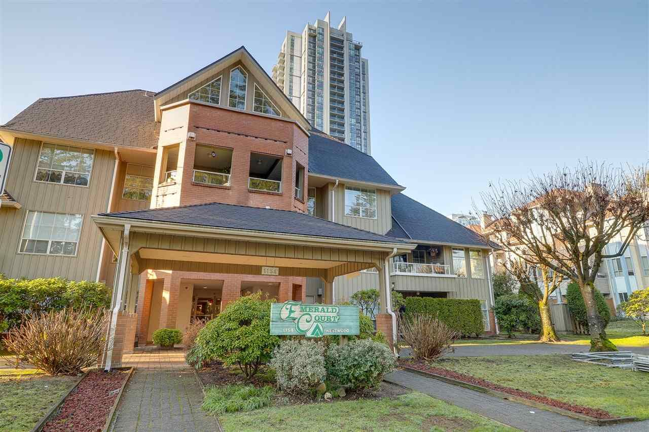 Main Photo: 111 1154 WESTWOOD Street in Coquitlam: North Coquitlam Condo for sale : MLS®# R2227727