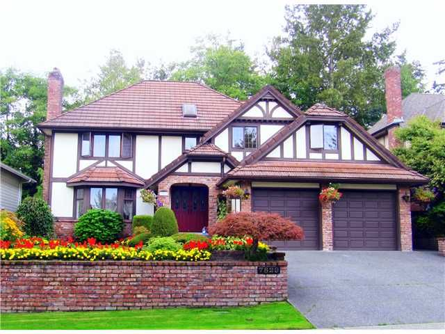 Main Photo: 7829 MEADOWOOD Drive in Burnaby: Forest Hills BN House for sale (Burnaby North)  : MLS®# V930732
