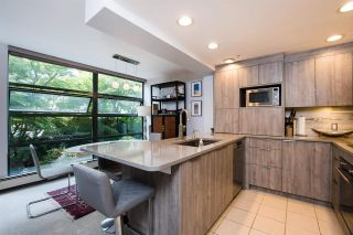 """Photo 1: 213 1688 ROBSON Street in Vancouver: West End VW Condo for sale in """"Pacific Robson Palais"""" (Vancouver West)  : MLS®# R2590281"""