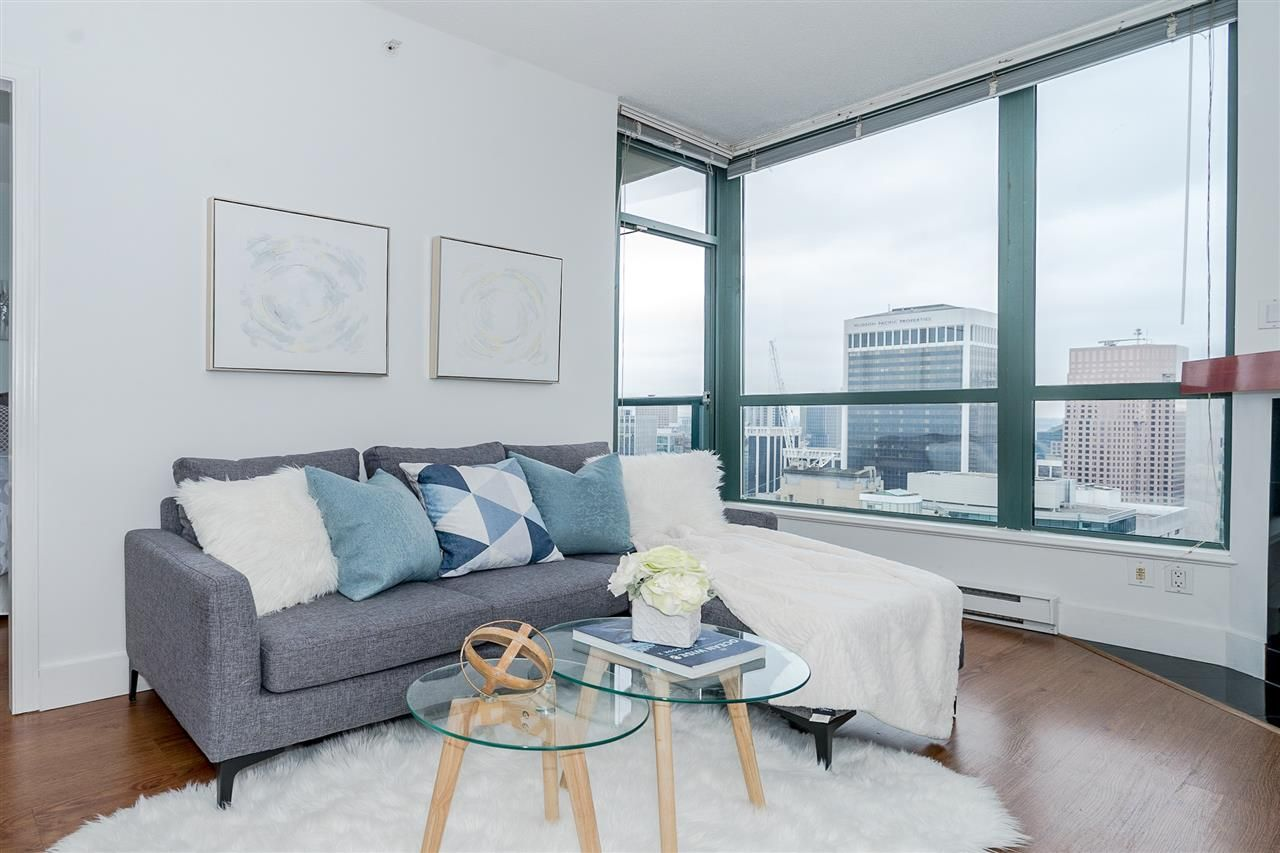 Main Photo: 3209 1239 W GEORGIA Street in Vancouver: Coal Harbour Condo for sale (Vancouver West)  : MLS®# R2495132