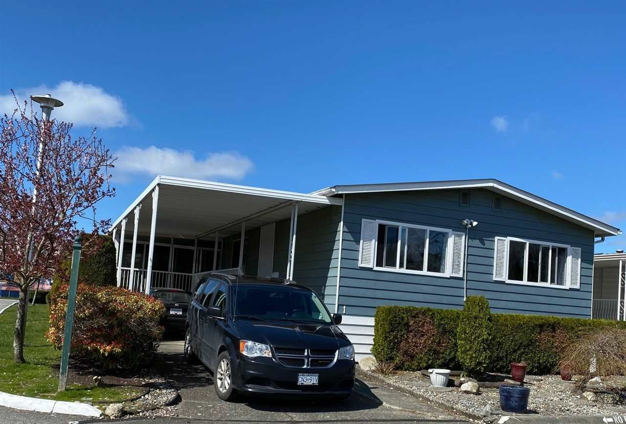 """Main Photo: 1 1640 162 Street in Surrey: King George Corridor Manufactured Home for sale in """"CHERRY BROOK PARK"""" (South Surrey White Rock)  : MLS®# R2565910"""