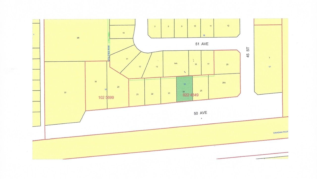 Main Photo: 4520 50 Avenue: Warburg Vacant Lot for sale : MLS®# E4196795