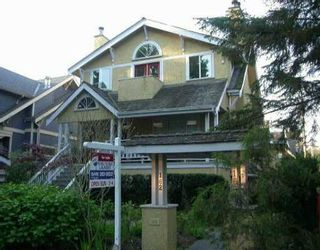 Photo 1: 162 W 13TH AV in Vancouver: Mount Pleasant VW Townhouse for sale (Vancouver West)  : MLS®# V533534