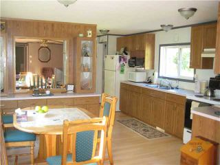 """Photo 3: 12120 WILLOWVALE Road in Prince George: Shelley Manufactured Home for sale in """"SHELLEY"""" (PG Rural East (Zone 80))  : MLS®# N204835"""