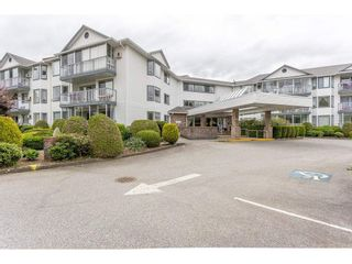 """Main Photo: 105 2425 CHURCH Street in Abbotsford: Abbotsford West Condo for sale in """"PARKVIEW PLACE"""" : MLS®# R2585975"""