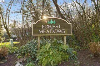"""Photo 1: 8232 ELKWOOD Place in Burnaby: Forest Hills BN Townhouse for sale in """"FOREST MEADOWS"""" (Burnaby North)  : MLS®# R2530254"""