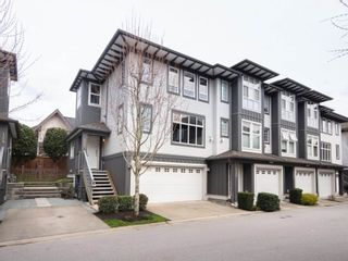 "Photo 1: 125 18777 68A Avenue in Surrey: Clayton Townhouse for sale in ""COMPASS"" (Cloverdale)  : MLS®# R2254690"