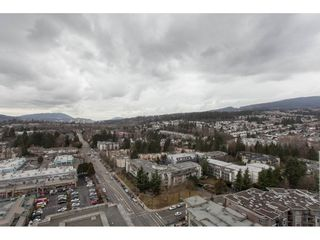 """Photo 1: 2202 2968 GLEN Drive in Coquitlam: North Coquitlam Condo for sale in """"Grand Central 2"""" : MLS®# R2142180"""