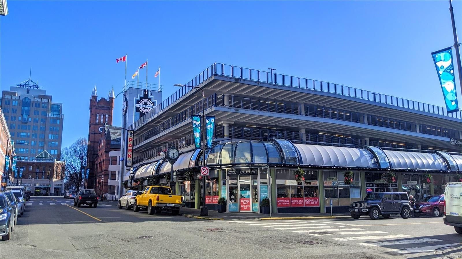 Main Photo: 617 Broughton St in : Vi Downtown Retail for lease (Victoria)  : MLS®# 864078