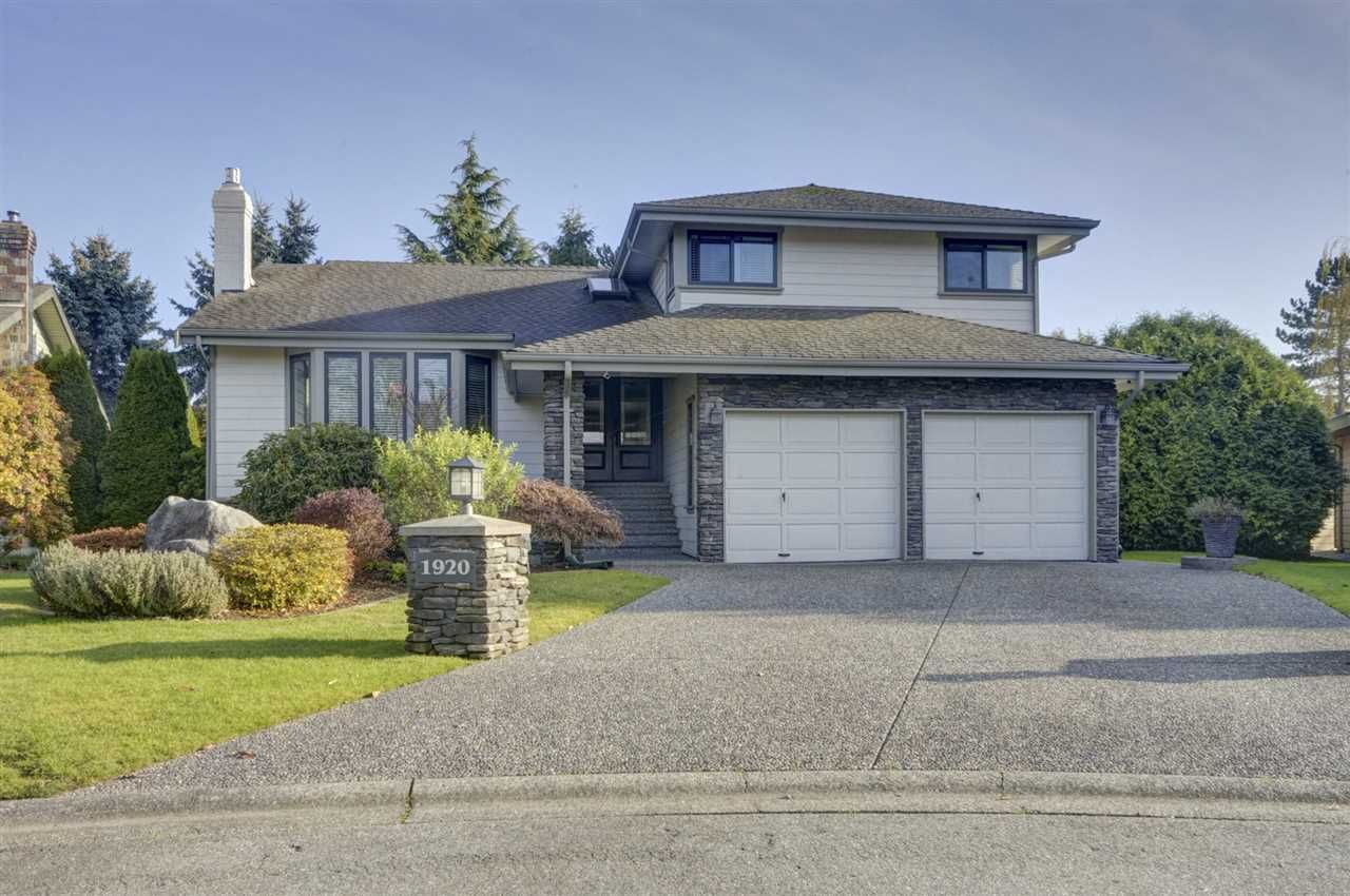 """Main Photo: 1920 141A Street in Surrey: Sunnyside Park Surrey House for sale in """"Ocean Bluff"""" (South Surrey White Rock)  : MLS®# R2457576"""