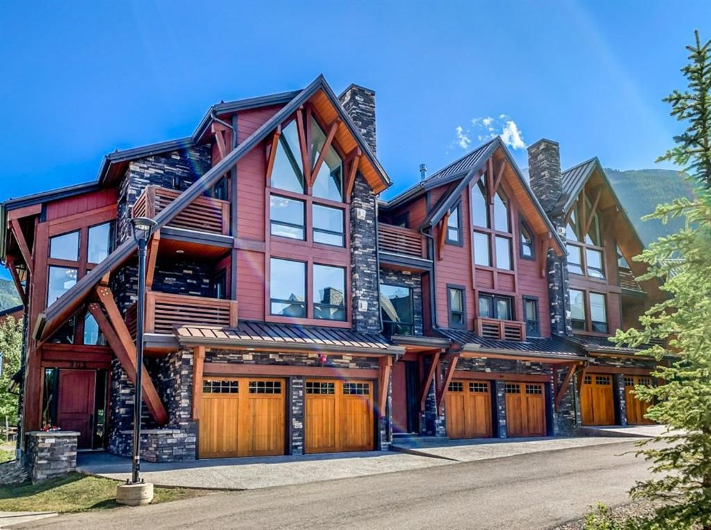 Main Photo: 301 2100F Stewart Creek Drive: Canmore Row/Townhouse for sale : MLS®# A1026088