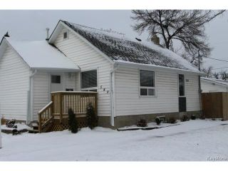 Photo 1: 549 St Catherine Street in WINNIPEG: St Boniface Residential for sale (South East Winnipeg)  : MLS®# 1424430