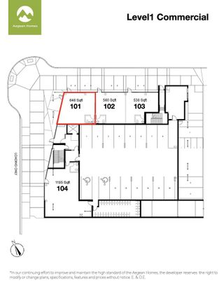 """Photo 2: 101 1360 VICTORIA Street in Squamish: Downtown SQ Retail for sale in """"AEGEAN"""" : MLS®# C8038575"""