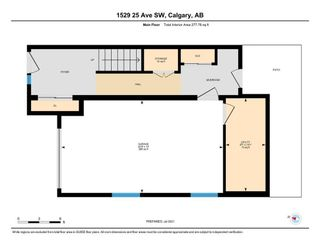 Photo 33: 1529 25 Avenue SW in Calgary: Bankview Row/Townhouse for sale : MLS®# A1127936