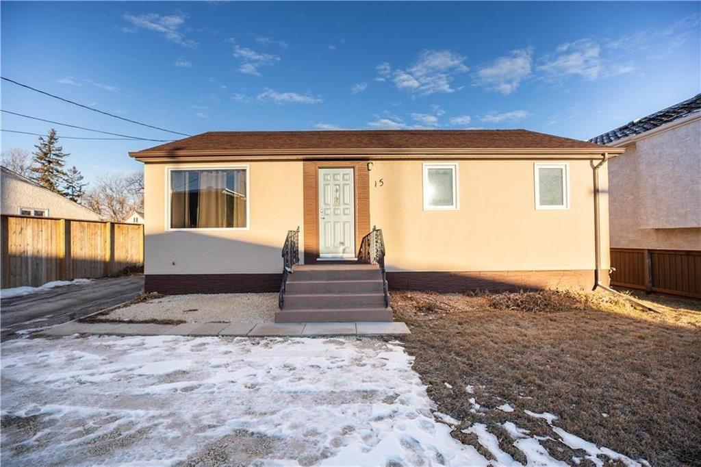 Main Photo: 15 Parkville Drive in Winnipeg: Residential for sale (2C)  : MLS®# 202028901