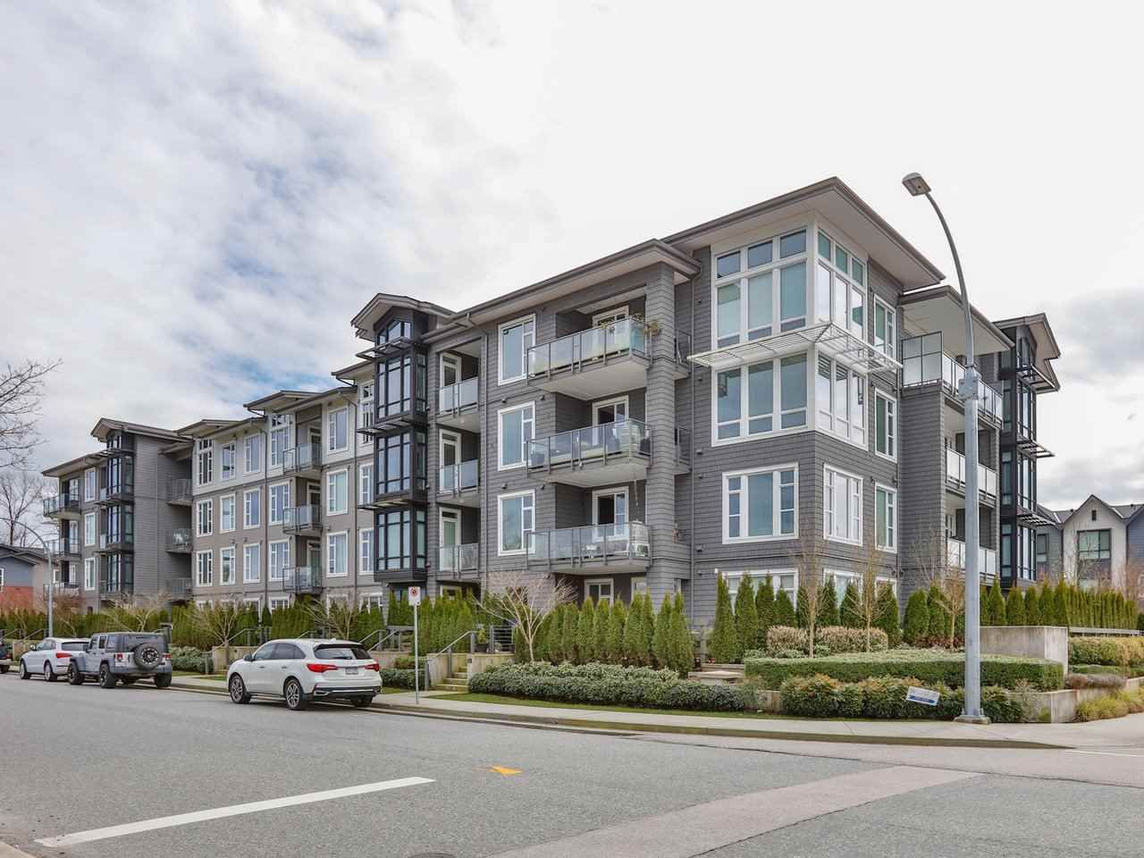 """Main Photo: 319 2393 RANGER Lane in Port Coquitlam: Riverwood Condo for sale in """"Freemont Emerald"""" : MLS®# R2554624"""