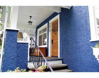 """Photo 2: 3879 TUPPER Street in Vancouver: Cambie House for sale in """"DOUGLAS PARK"""" (Vancouver West)  : MLS®# V668860"""
