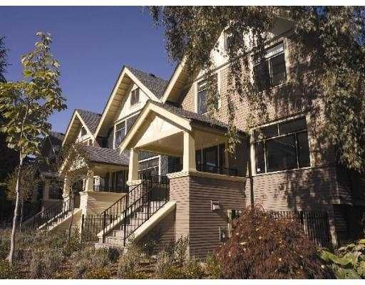 """Main Photo: 1 1425 W 11TH AV in Vancouver: Fairview VW Townhouse for sale in """"QUIGG"""" (Vancouver West)  : MLS®# V549268"""