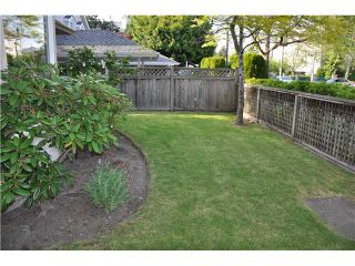 """Photo 2: 1 7651 MOFFATT Road in Richmond: Brighouse South Townhouse for sale in """"KING'S GARDEN"""" : MLS®# V894770"""
