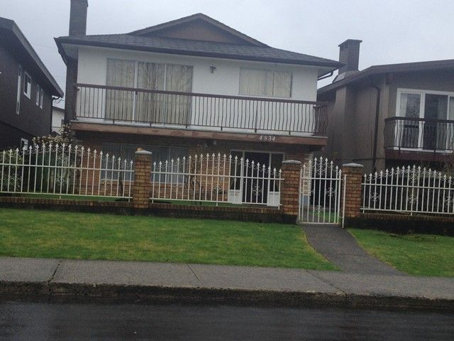 Main Photo: 4534 FRANCES Street in Burnaby: Capitol Hill BN House for sale (Burnaby North)  : MLS®# V1105339