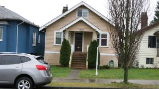 Photo 1: 2822 TURNER Street in Vancouver: Renfrew VE House for sale (Vancouver East)  : MLS®# R2329301