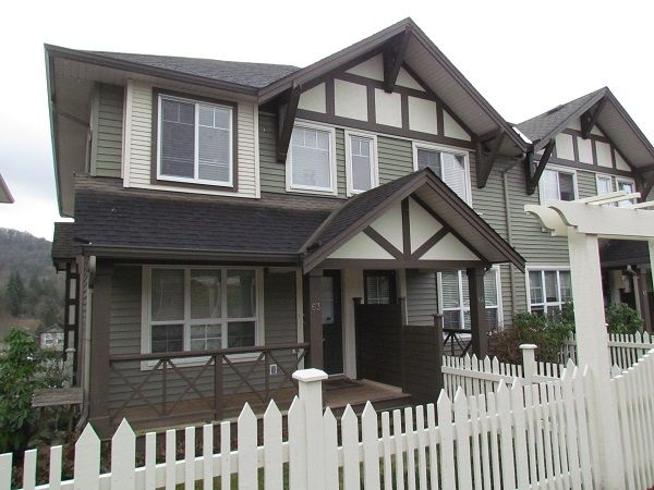 Main Photo: 63 4401 Blauson Boulevard in Abbotsford: Auguston Townhouse for sale