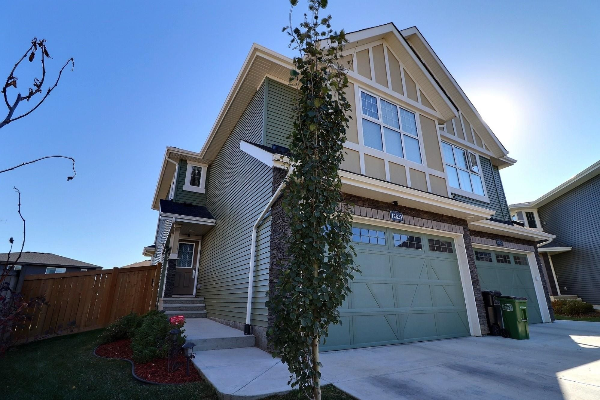 Main Photo: 12823 207 Street in Edmonton: Zone 59 House Half Duplex for sale : MLS®# E4265509