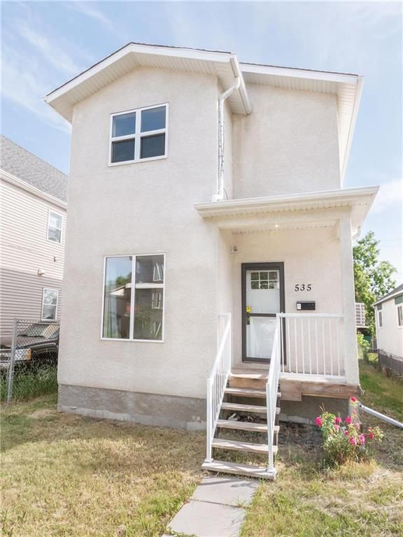 Main Photo: 535 Pritchard Avenue in Winnipeg: North End Residential for sale (4A)  : MLS®# 202118464