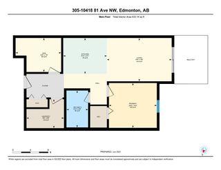 Photo 23: 305 10418 81 Avenue in Edmonton: Zone 15 Condo for sale : MLS®# E4249159