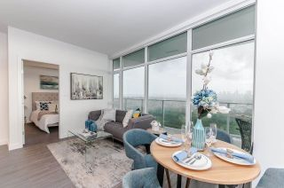 """Photo 1: 3501 2311 BETA Avenue in Burnaby: Brentwood Park Condo for sale in """"Lumina Waterfall"""" (Burnaby North)  : MLS®# R2582193"""