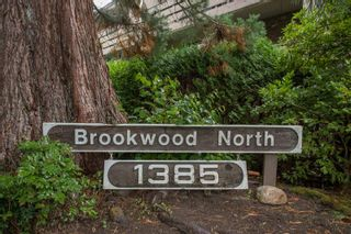 "Photo 1: 401 1385 DRAYCOTT Road in North Vancouver: Lynn Valley Condo for sale in ""Brookwood North"" : MLS®# R2309486"