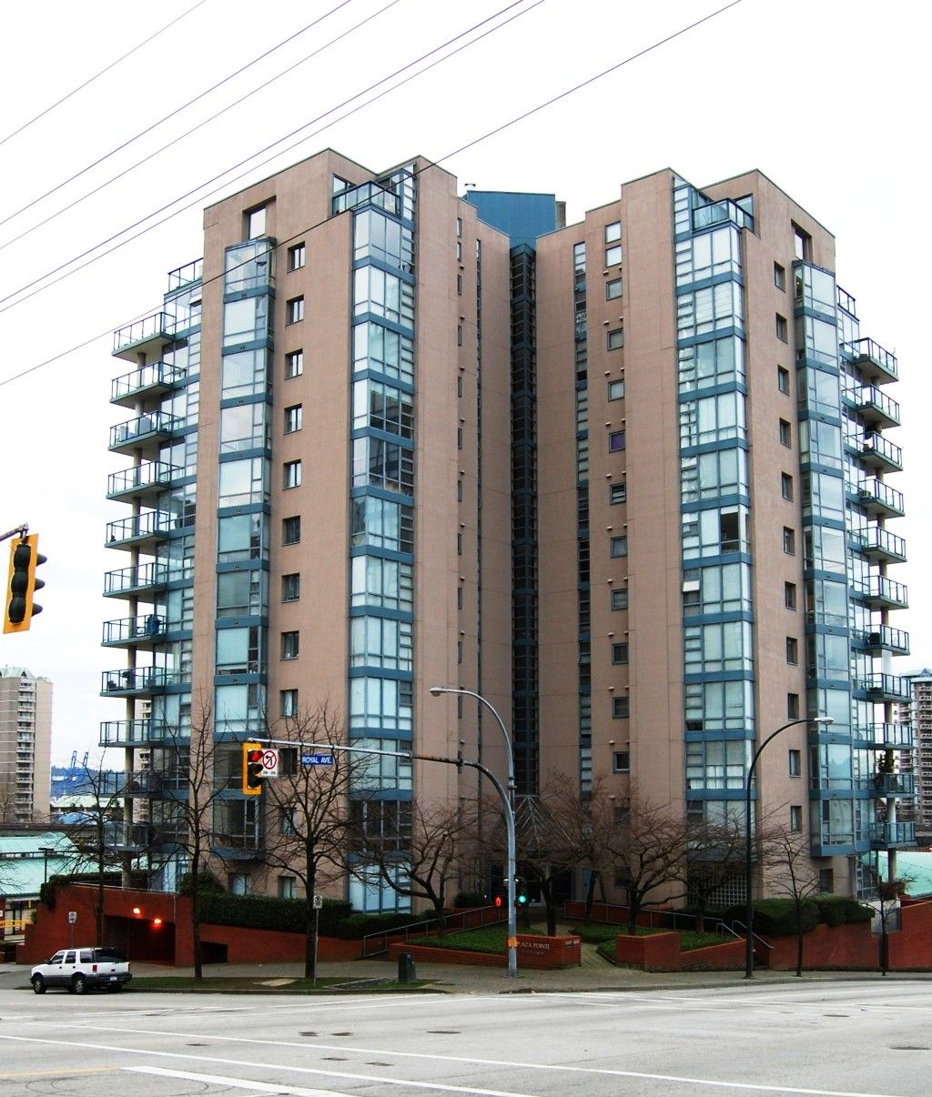 """Main Photo: # 402 - 98 Tenth Street in New Westminster: Downtown NW Condo for sale in """"Plaza Pointe"""""""