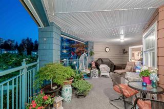 """Photo 1: 215 1200 EASTWOOD Street in Coquitlam: North Coquitlam Condo for sale in """"LAKESIDE TARRACE"""" : MLS®# R2186277"""