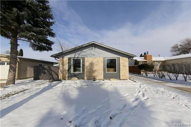 Main Photo: 59 Amelia Crescent in Winnipeg: House for sale (Valley Gardens)  : MLS®# 1728801