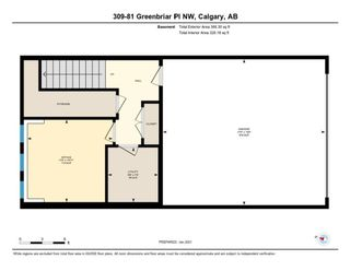 Photo 34: 309 81 Greenbriar Place NW in Calgary: Greenwood/Greenbriar Row/Townhouse for sale : MLS®# A1058995